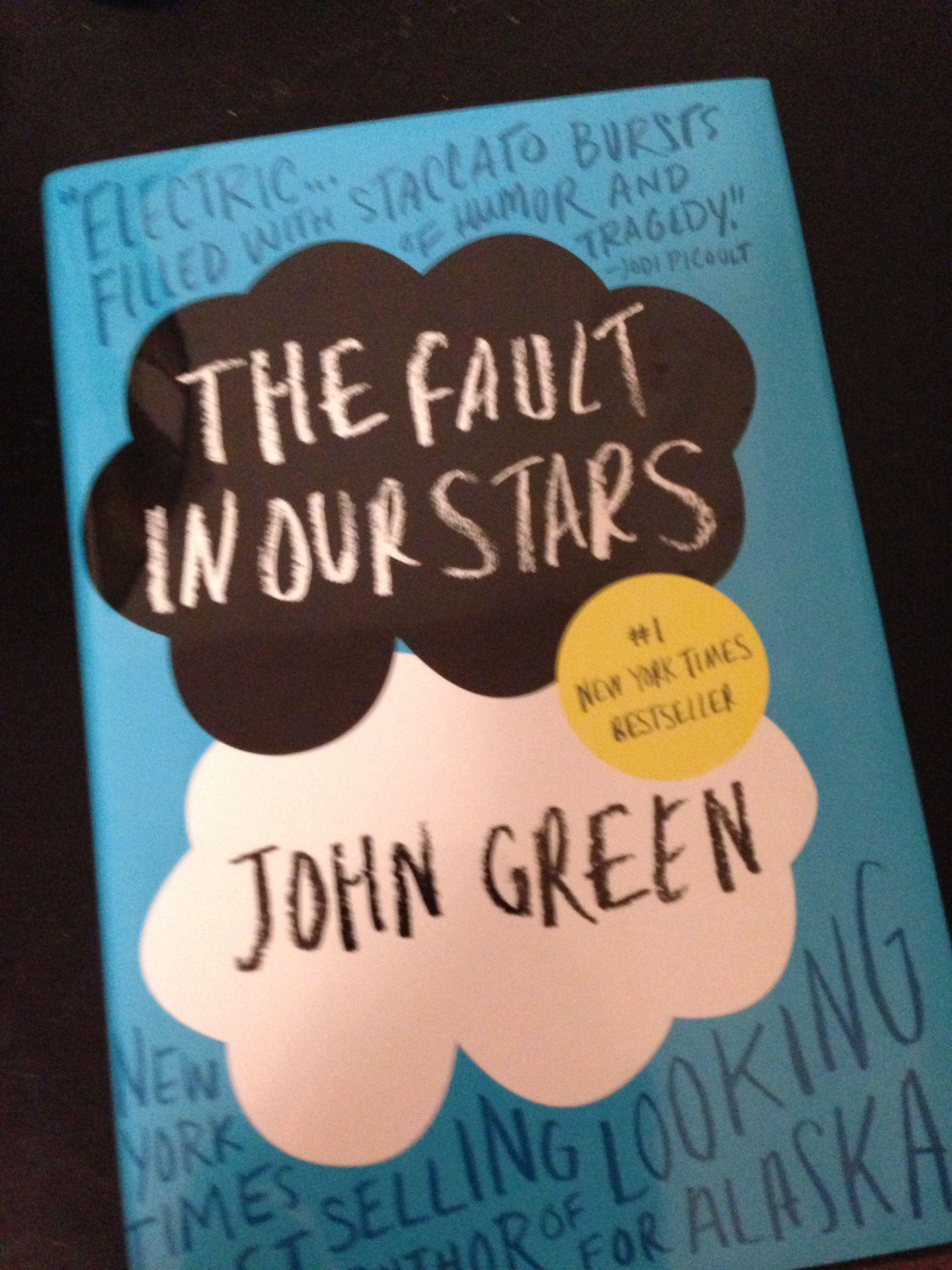 book review the fault in our stars my two hats