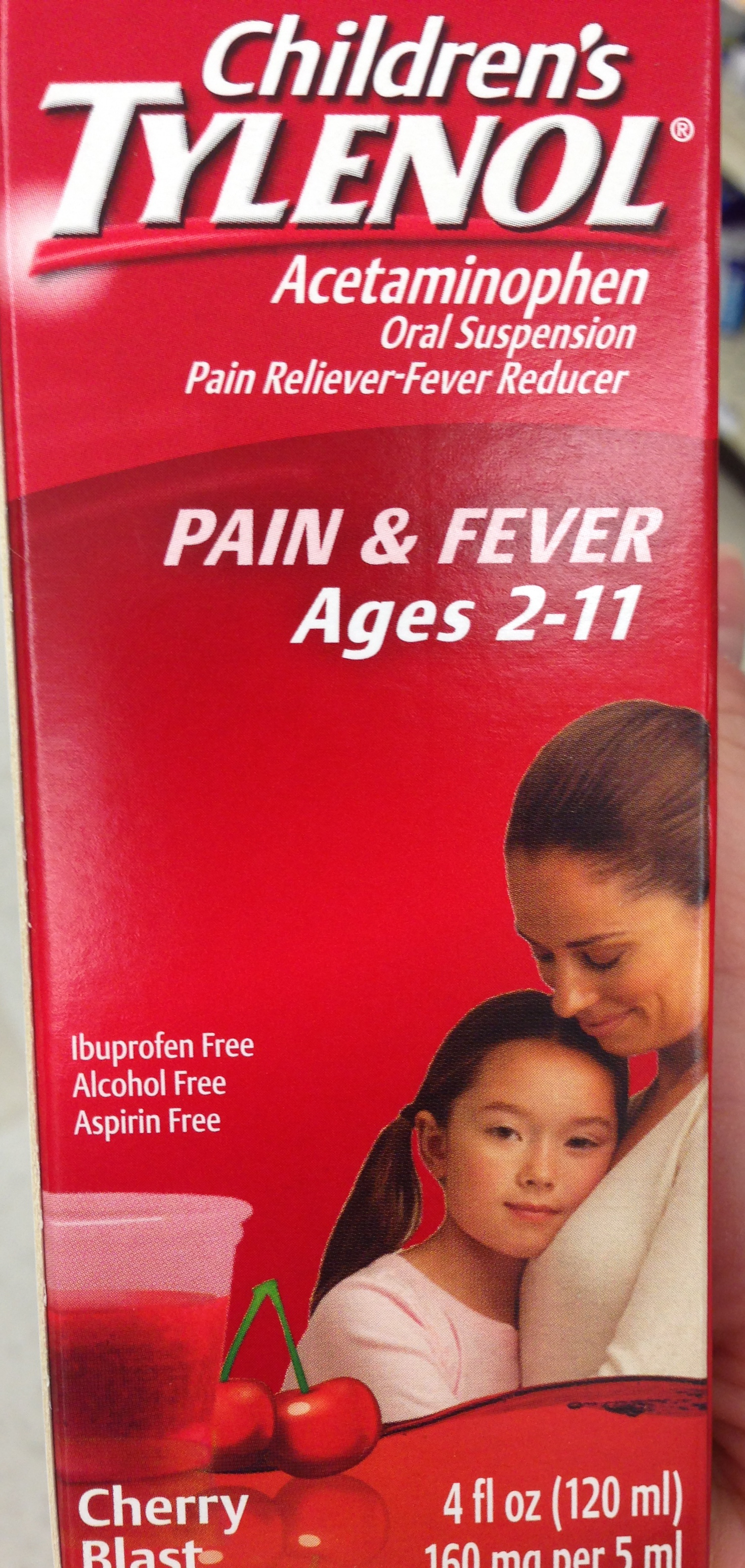Which medication best reduces fever