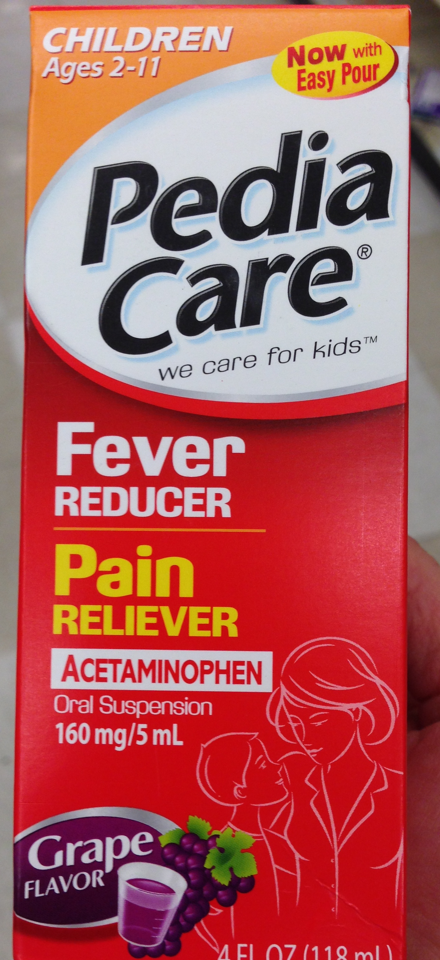 What is the most effective fever for children 46